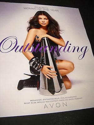 FERGIE as WOTY is OUTSTANDING Photo Promo Poster Ad