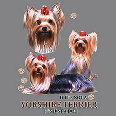If Not a Yorkshire Yorkie Terrier its Just a Dog  Tote