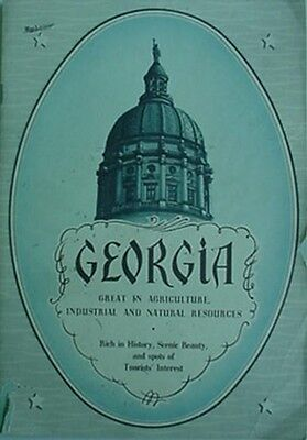 1948 State Of Georgia Agricultural & Industrial Board Booklet
