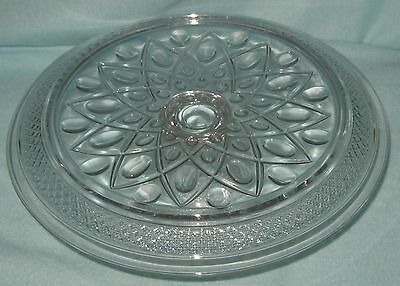 Imperial Cape Cod Pedestal Cake Stand Plate Rolled Edge