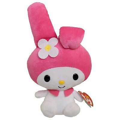 TY Beanie Baby - MY MELODY ( Sanrio - Hello Kitty ) (7.5 inch) MWMTs Stuffed Toy
