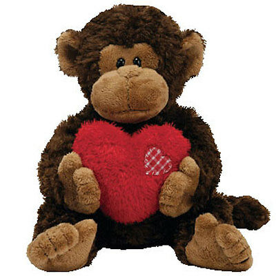 TY Classic Plush - HARTWELL the Monkey (12.5 inch) - MWMTs Stuffed Animal Toy