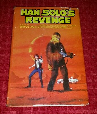 1979 STAR WARS Han Solo's Revenge by Brian Daley HB DJ Collectible Book