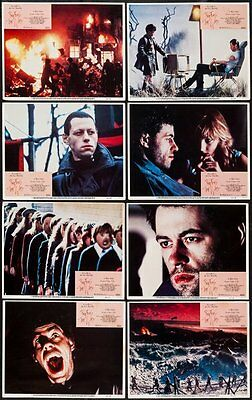 Pink Floyd The Wall 1982 Lobby Card Set Of (8) 11x14 Images