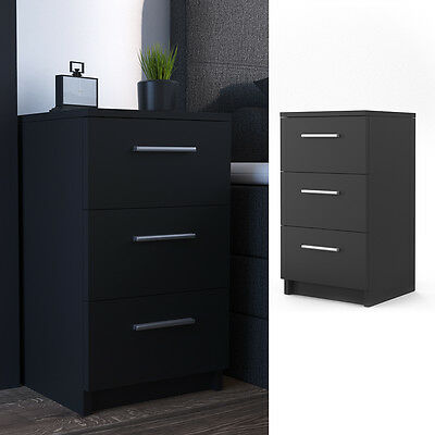 vicco nachtschrank nachttisch kommode schrank schlafzimmer. Black Bedroom Furniture Sets. Home Design Ideas