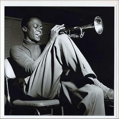 MILES DAVIS rare Hackensack 1954 photographic archive print by Francis Wolff