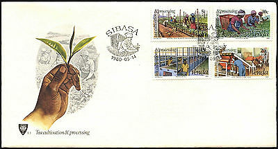 Venda 1980 Tea Cultivation FDC First Day Cover #C41534