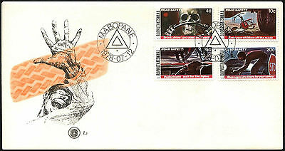 Bophuthatswana 1978 Road Safety FDC First Day Cover #C41515