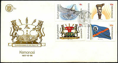Bophuthatswana 1977 Independence FDC First Day Cover #C41513