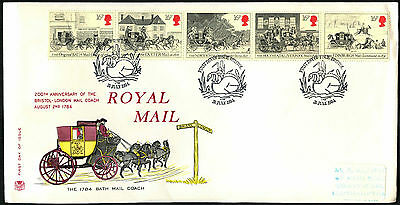GB FDC 1984 Royal Mail, Coaches, Bristol H/S #C41554