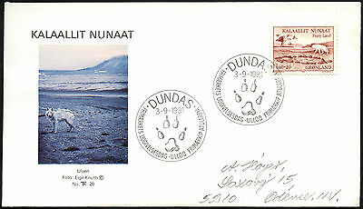 Greenland 1981 Peary Land Expeditions FDC First Day Cover #C41427