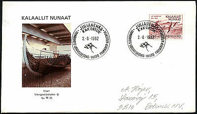 Greenland 1982 Millenary Of Greenland FDC First Day Cover #C41425