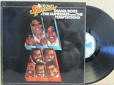 DIANA ROSS, SUPREMES & THE TEMPTATIONS- Motown Special, Best of LP (EX Vinyl)