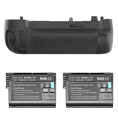 Battery Grip Replacement for MB-D16 +2 * Replacement Battery for Nikon D750