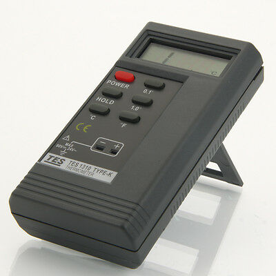 TES 1310 LCD Digital Thermometer Meter Temperature Contact-type Tester Meter
