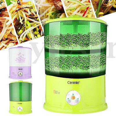 220V 20W Intelligent Automatic Household Bean Sprouts Machine Seed Cereal Tool