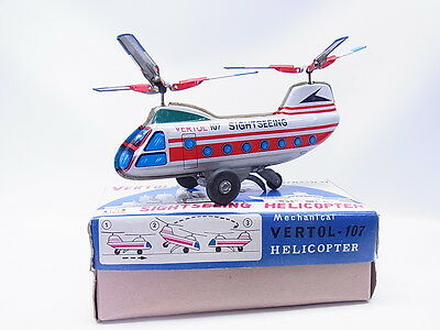 "LOT 1304 | ""N"" Nakayama Vertol-107 Sightseeing Helicopter in OVP/Box"