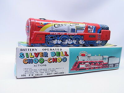 LOT 1285 | Vintage Kanto Toys Japan Silver Bell Locomotive Choo-Choo in OVP/Box