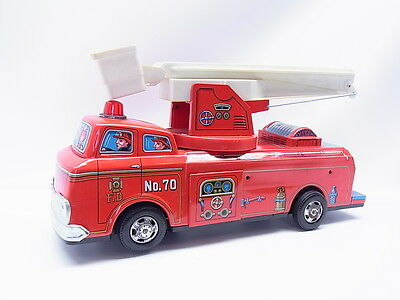 LOT 1273 | Vintage TM Modern Toys Masudaya Japan Snorkel Fire Engine 4070 in OVP
