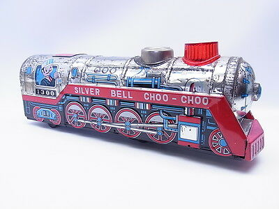 LOT 1271 | Vintage Kanto Toys Japan Silver Bell Locomotive Choo-Choo in OVP/Box