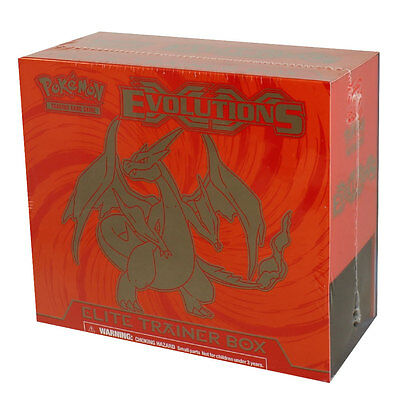 Pokemon Cards - XY Evolutions Elite Trainer Box - MEGA CHARIZARD - New Sealed