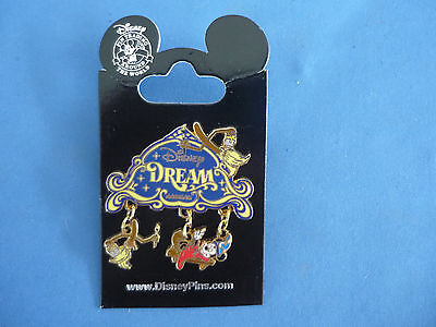 Disney DREAM with DANGLES  Disney Pin  DCL Cruise Line New on Card