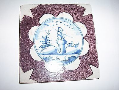 Delft Tile c. 18th / 19th  century   (11)