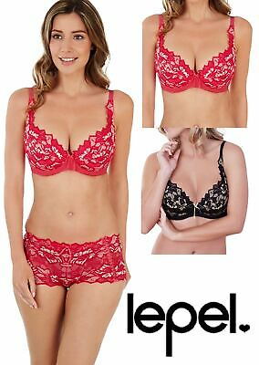 946e393b30e27 LEPEL FIORE PADDED Plunge Bra 93200 Raspberry Gold and Black Gold ...