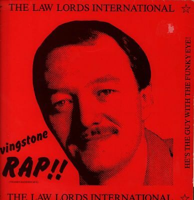 "The Law Lords International(12"" Vinyl)Livingstone Rap-Cherry Red-12 CHE-VG/VG"
