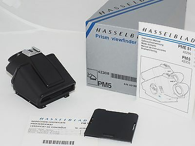 Hasselblad PM5 Prism Viewfinder. Mint in Box. Fits V System. 501CM, 503CX, 2000F