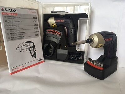 Sparky Pro GR3.6Li Cordless Screwdriver Kit With Punchy 4Nm Torque - Save £30!