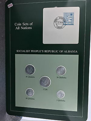 Socialist People's Republic Of Albania Coin Sets Of All Nations