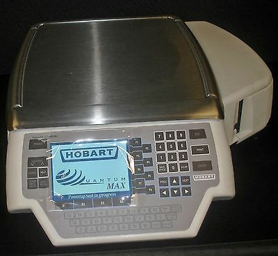 Hobart Quantum-1VPN Digital Deli Grocery Scale &  Printer 29293-BJ ~New~