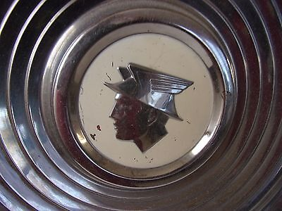 Old Vintage Mercury Montclair HUb Cab Wheel Cover Silver Embossed Man Cave AUTO