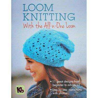 KB Loom Knitting With The All n One Loom Knitting Board Book 11 patterns