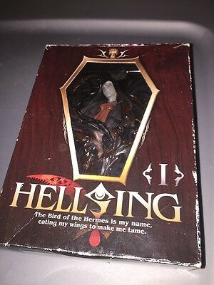 Hellsing Arucard Figure Japan Anime Manga Rare In Box