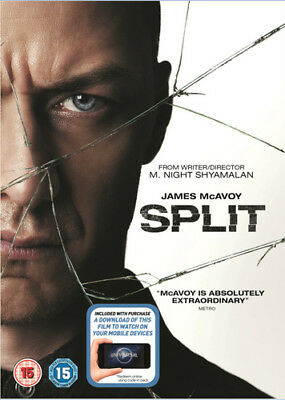 Split DVD (2017) James McAvoy ***NEW***