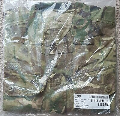 """180/112 - 46"""" Chest Extra Large Cadet British Army MTP Barrack Shirt - Brand New"""
