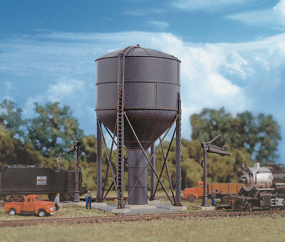 Walthers Cornerstone N Scale Building/Structure Kit Steel Water Tank/Tower