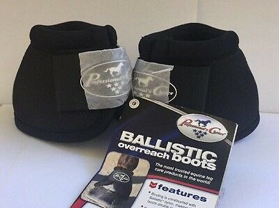 New- Professionals Choice Ballistic NoTurn Overreach Boots - Black; Size: Large