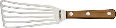 "Victorinox 40415 Stainless Chefs Slotted Fish Turner 3"" X 6"" Brown Wood Handle"