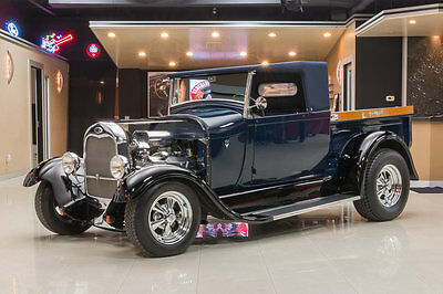 1928 Ford Model A  teel Body! Frame-Off, Custom Build! GM 350ci V8 Crate Engine, TH350 Auto, Disc