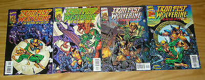 Iron Fist: Wolverine #1-4 VF/NM complete series - return of k'un lun 2 3 marvel