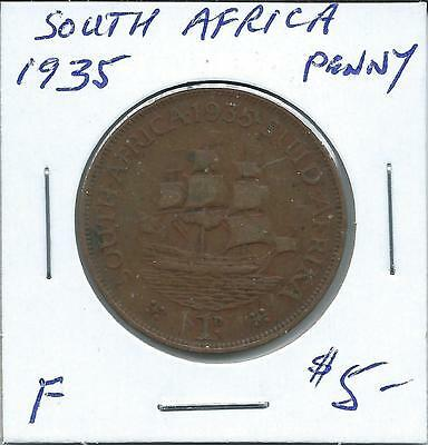 South Africa 1935  Penny
