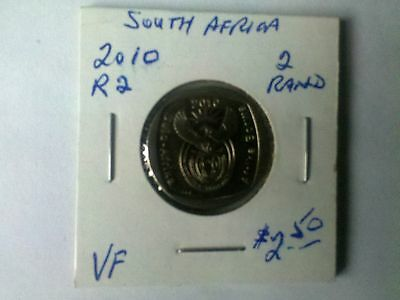 South Africa 2010 R2 2 Rand