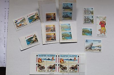 20+ Unused Jersey, Guernsey, Stamps    # 1151