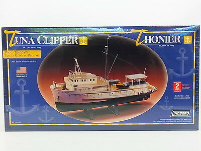 "LOT 13073 | Lindberg 77220 ""Tuna Clipper"" Fischerboot 1:60 ungebaut NEU in OVP"