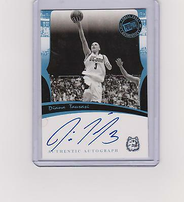 Diana Taurasi 2007 Press Pass Certified Authentic Autograph No Number Med Blue