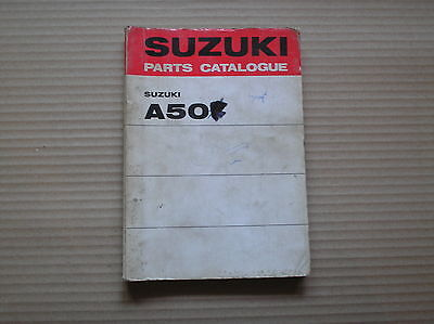 Suzuki 50 A50 2 L M genuine parts catalogue 99000-91951 good USED
