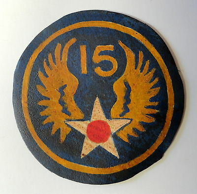 15Th Army Air Forces North Africa/mediteranian Theater Patch